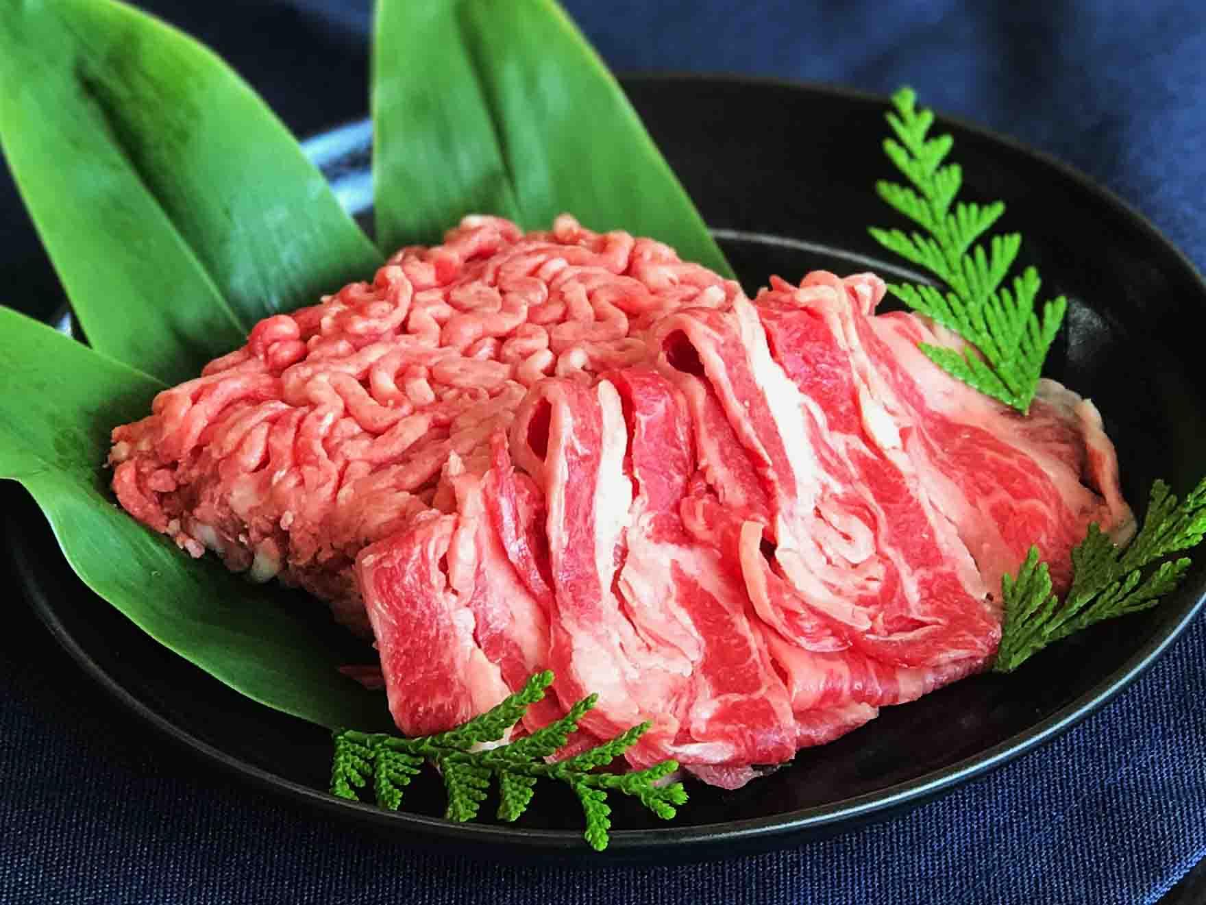 鹿児島県産黒毛和牛肉を使用