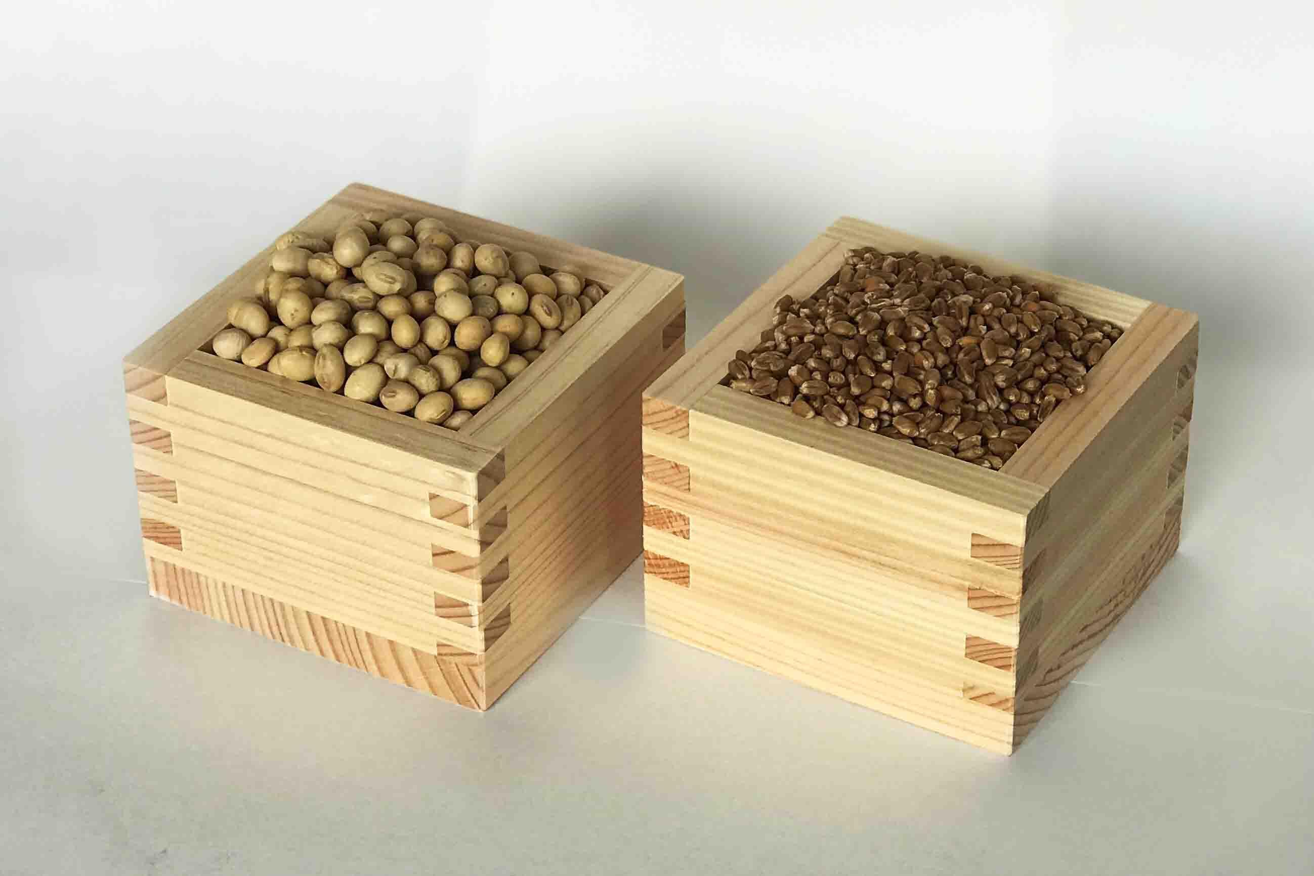 国産大豆・小麦を使用